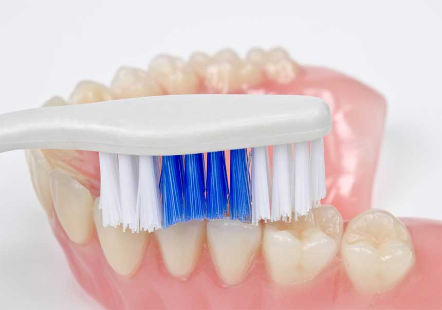 recommended denture cleaning tools